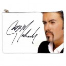 George Michael Signature - Large Cosmetic Bag