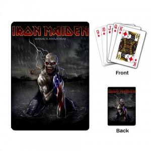 Iron Maiden Eddie Playing Cards on Iron Maiden Eddie