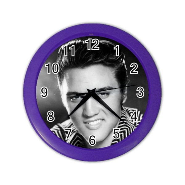 Elvis Presley Wall Clock Stars On Stuff