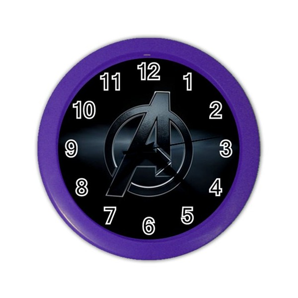 Marvel Avengers Wall Clock Stars On Stuff