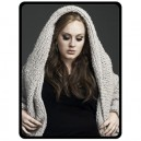 Adele - Large Throw Fleece Blanket