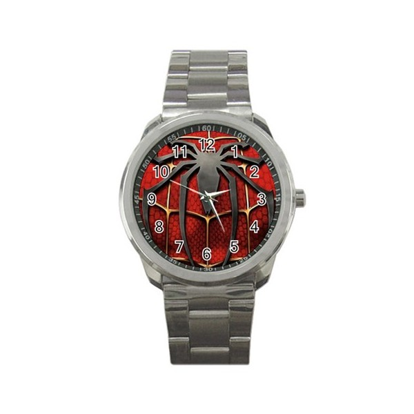 Spiderman sports style watch stars on stuff for Spiderman watches