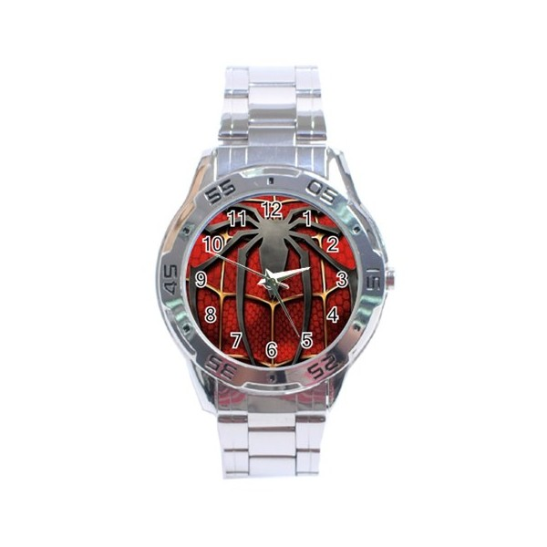 Spiderman analogue men s watch stars on stuff for Spiderman watches