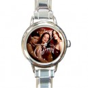 Charmed - Round Italian Charm Watch