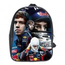 Sebastian Vettel - School Bag (Medium)