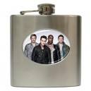 Blue - 6oz Hip Flask