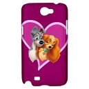 Disney Lady And The Tramp - Samsung Galaxy Note 2 Case