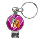 Disney Lady And The Tramp - Nail Clippers Keyring