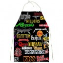 Rock Bands Collage - BBQ/Kitchen Apron