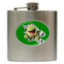 The Muppets Kermit The Frog - 6oz Hip Flask