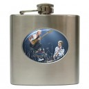 The Police - 6oz Hip Flask