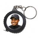 Tiger Woods -  Measuring Tape Keyring