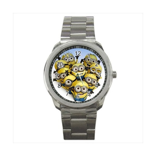 despicable me sports style watch stars on stuff