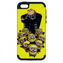 Despicable Me - Apple iPhone 5 IOS-6 Silicone And Hardshell Dual Case