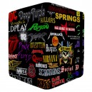 Rock Bands - Apple iPad 3 and 4 Book Style Flip Case