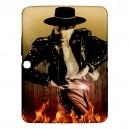 """Michael Flatley Feet Of Flames - Samsung Galaxy Tab 3 10.1"""" P5200 Case"""