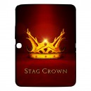 "Game Of Thrones Stag Crown - Samsung Galaxy Tab 3 10.1"" P5200 Case"