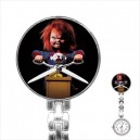 Chucky Childs Play - Stainless Steel Nurses Fob Watch