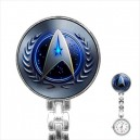 Star Trek Federation - Stainless Steel Nurses Fob Watch