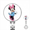Disney Minnie Mouse - Stainless Steel Nurses Fob Watch