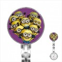 Despicable Me Minions - Stainless Steel Nurses Fob Watch