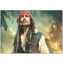 Johnny Depp/Jack Sparrow - Pillow Case