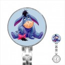 Disney Eeyore - Stainless Steel Nurses Fob Watch