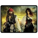 Pirates Of The Caribbean - Large Throw Fleece Blanket