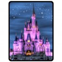 Walt Disney World Cinderella Castle - Large Throw Fleece Blanket
