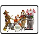 The Banana Splits - Large Throw Fleece Blanket
