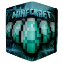 Minecraft - Apple iPad 3 and 4 Book Style Flip Case