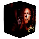 Jack Bauer 24 CTU - Apple iPad 3 and 4 Book Style Flip Case