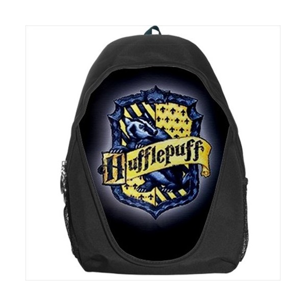harry potter hufflepuff rucksack backpack stars on stuff. Black Bedroom Furniture Sets. Home Design Ideas