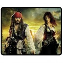 Pirates Of The Caribbean - Medium Throw Fleece Blanket