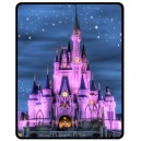 Walt Disney World Cinderella Castle - Medium Throw Fleece Blanket