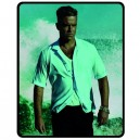 Robbie Williams - Medium Throw Fleece Blanket
