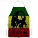 Bob Marley - BBQ/Kitchen Apron