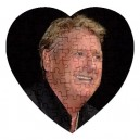 Joe Longthorne - 75 Piece Heart Shaped Jigsaw Puzzle