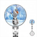 Disney Frozen Olaf - Stainless Steel Nurses Fob Watch