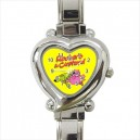 Roobarb And Custard - Heart Shaped Italian Charm Watch