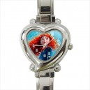 Disney Brave Merida - Heart Shaped Italian Charm Watch