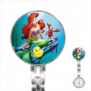 Disney Ariel The Little Mermaid - Stainless Steel Nurses Fob Watch