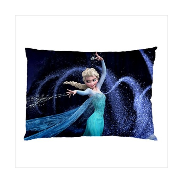 Disney Frozen Elsa Pillow Case Stars On Stuff