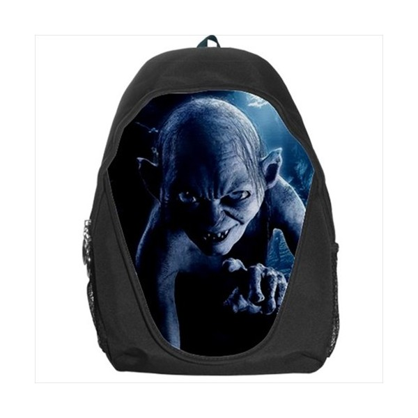 Gollum Lord Of The Rings Rucksack Backpack Stars On