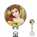 Disney Beauty And The Beast Belle - Stainless Steel Nurses Fob Watch