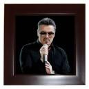 George Michael - Framed Tile
