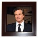 Colin Firth - Framed Tile