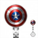 Marvel Captain America - Stainless Steel Nurses Fob Watch