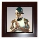 50 Cent - Framed Tile