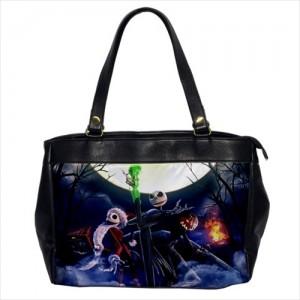 Jack Skellington The Nightmare Before Christmas Oversize Office Handbag